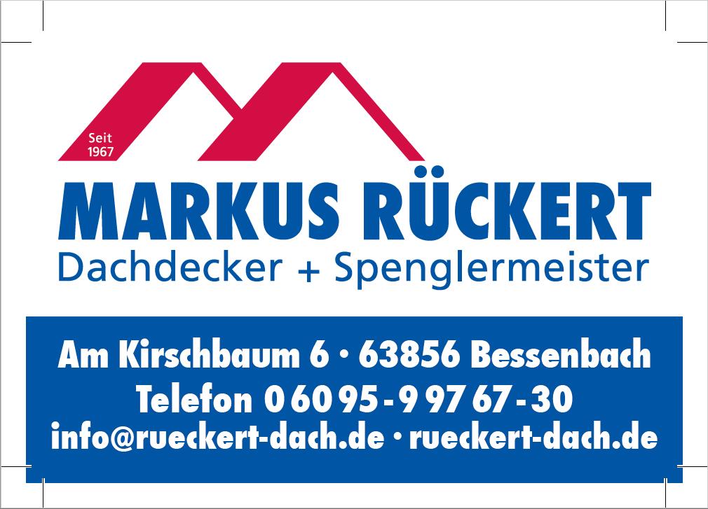 Markus Rückert – Dachdecker und Spenglermeister
